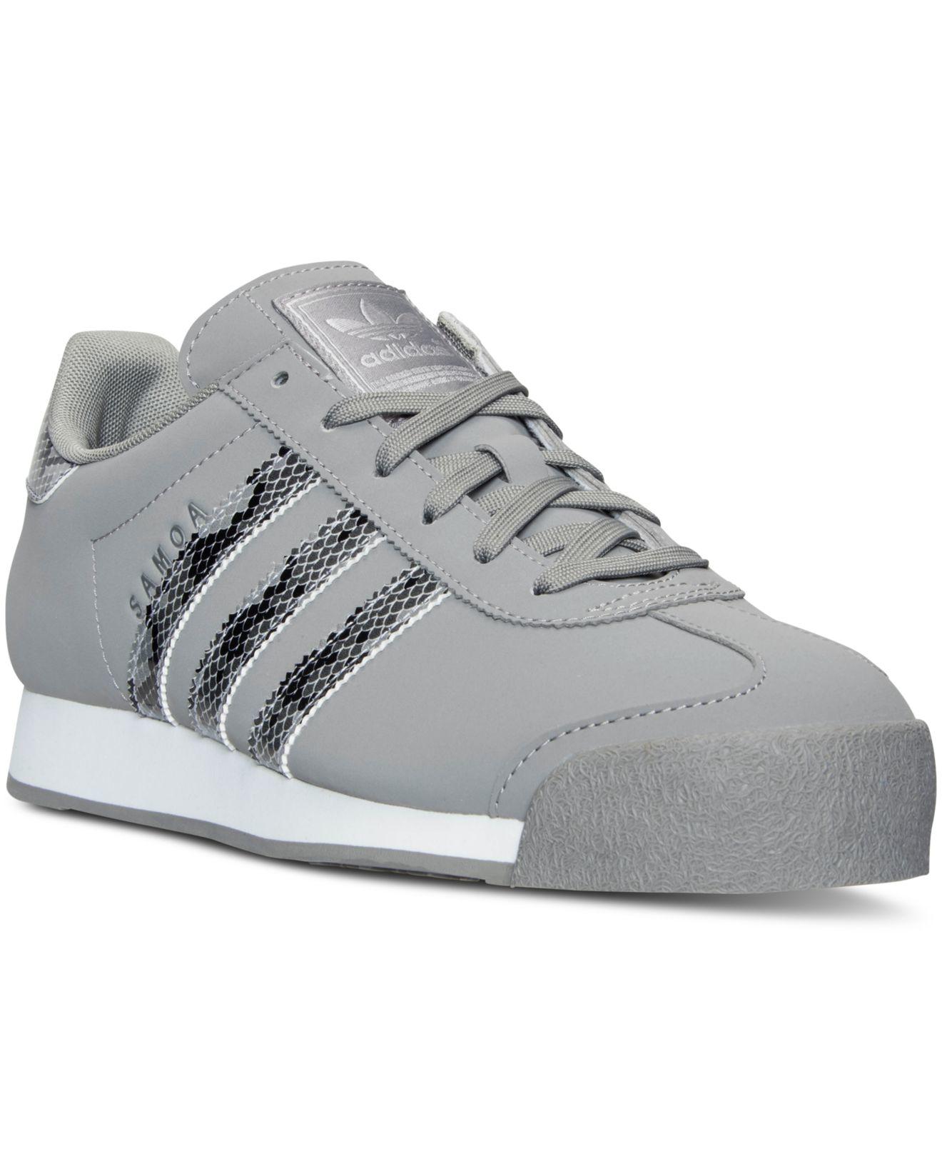 9cb46198e64ea4 Lyst - adidas Originals Men s Samoa Reptile Casual Sneakers From ...