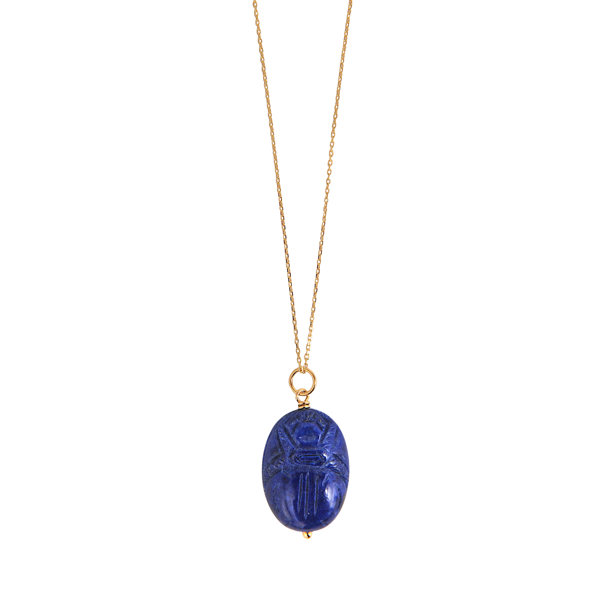 vavavoo blue with products pamela chain gold lapis pendant necklace