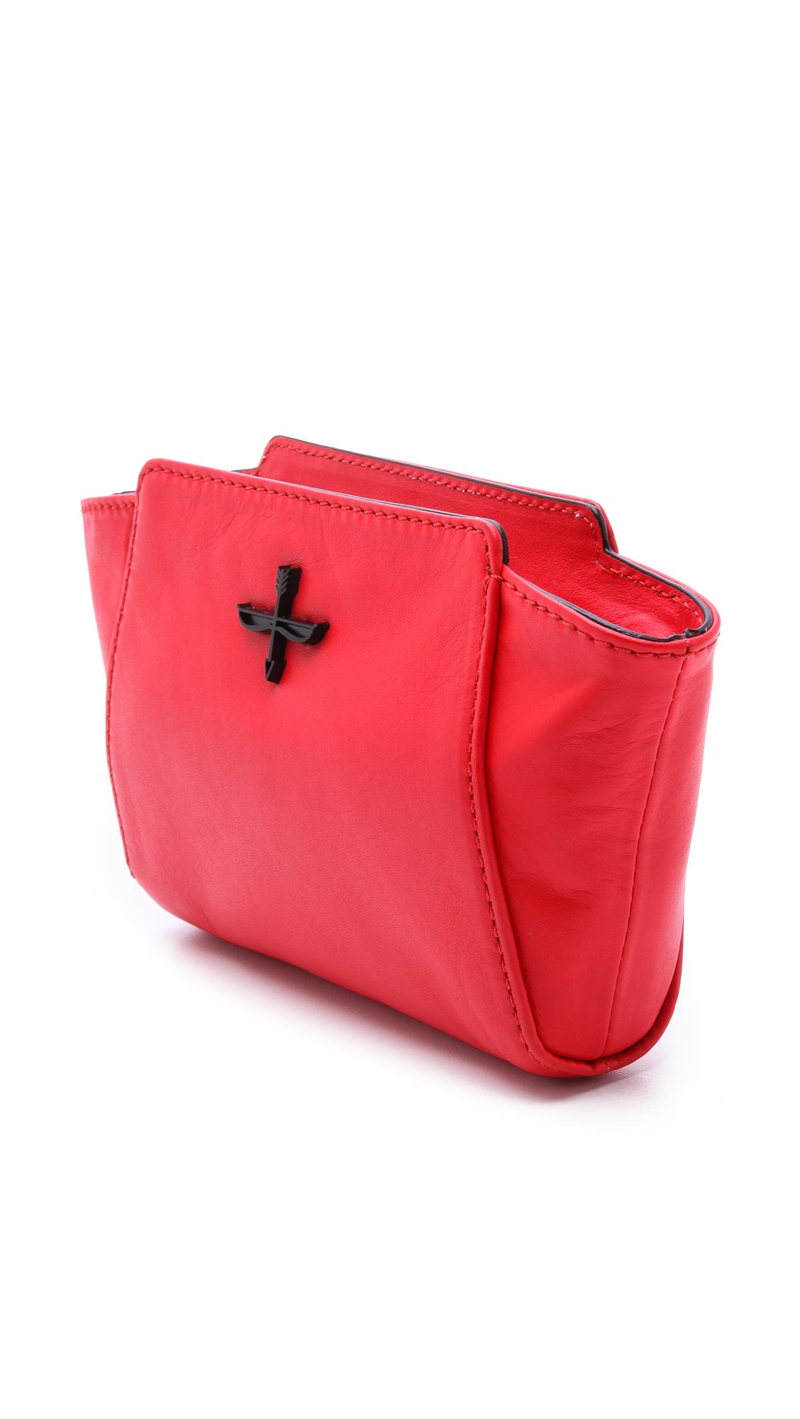 Pour La Victoire Leather Pour La Victoire - Scarlet in Red