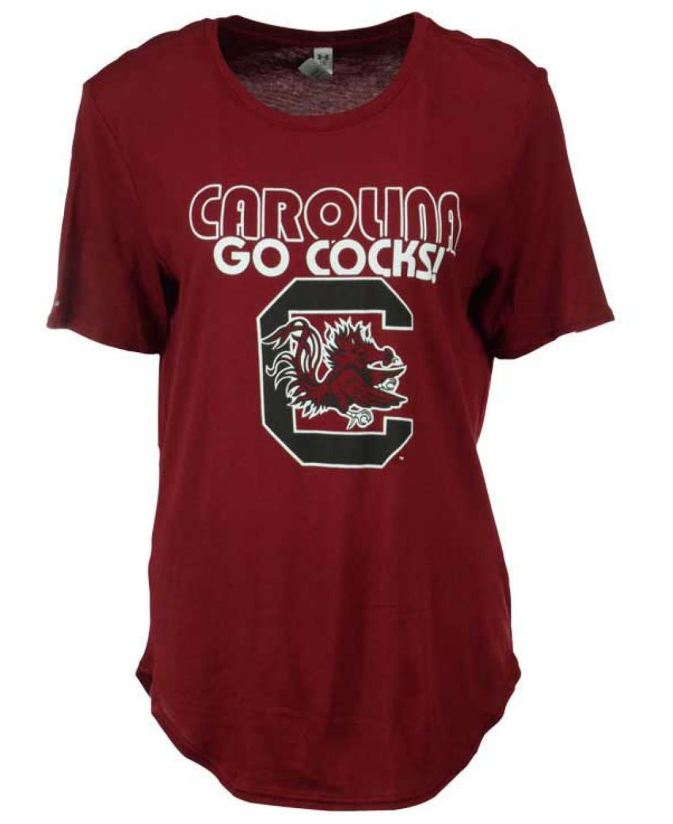 Under armour women 39 s south carolina gamecocks 60 40 t for Thrilla in manila shirt under armour
