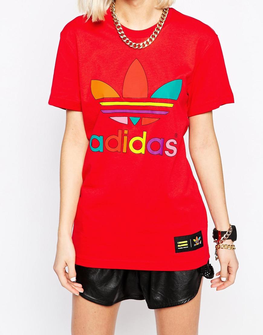 t shirt adidas supercolor