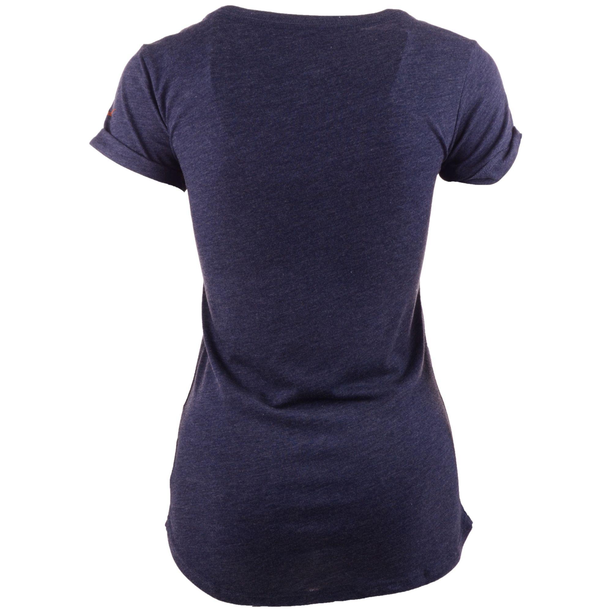 Nike womens short sleeve denver broncos crested t shirt in for Nike short sleeve shirt