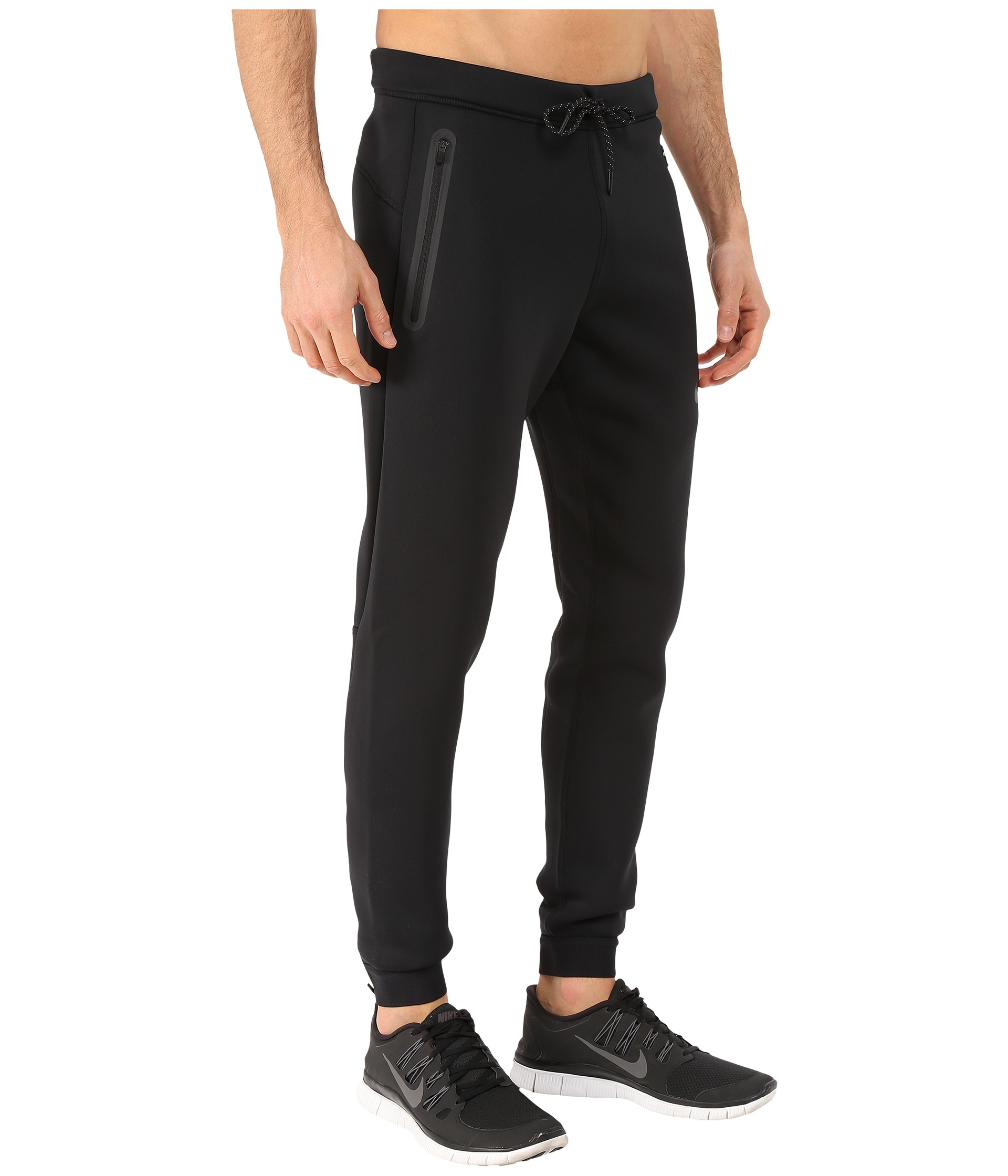f05f1384900d Lyst - Nike Tech Thermasphere Max Pants in Black for Men