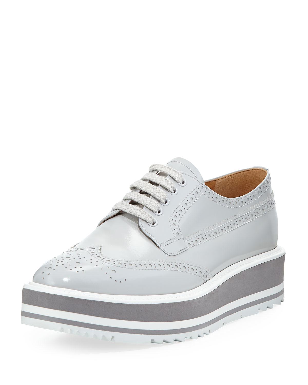 Prada Shoes Light Blue