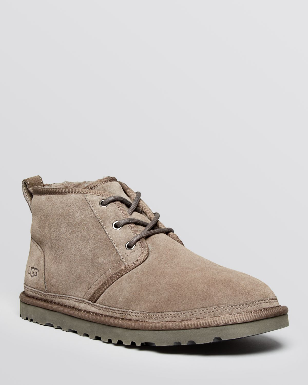 3413d461f65 UGG Gray Neumel Suede Chukka Boots for men