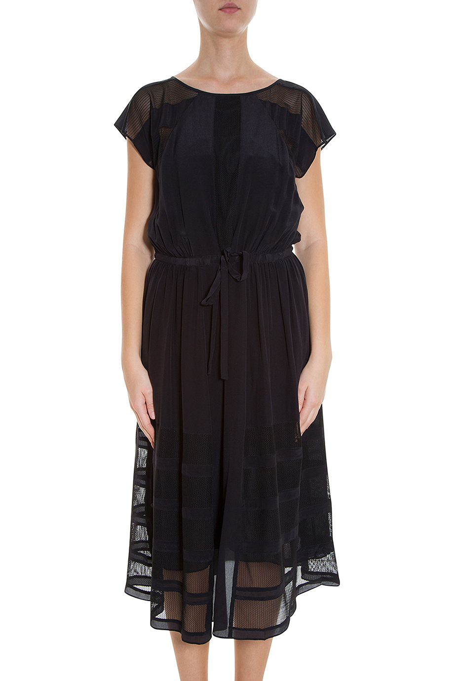 lyst paul joe genovie dress in black. Black Bedroom Furniture Sets. Home Design Ideas