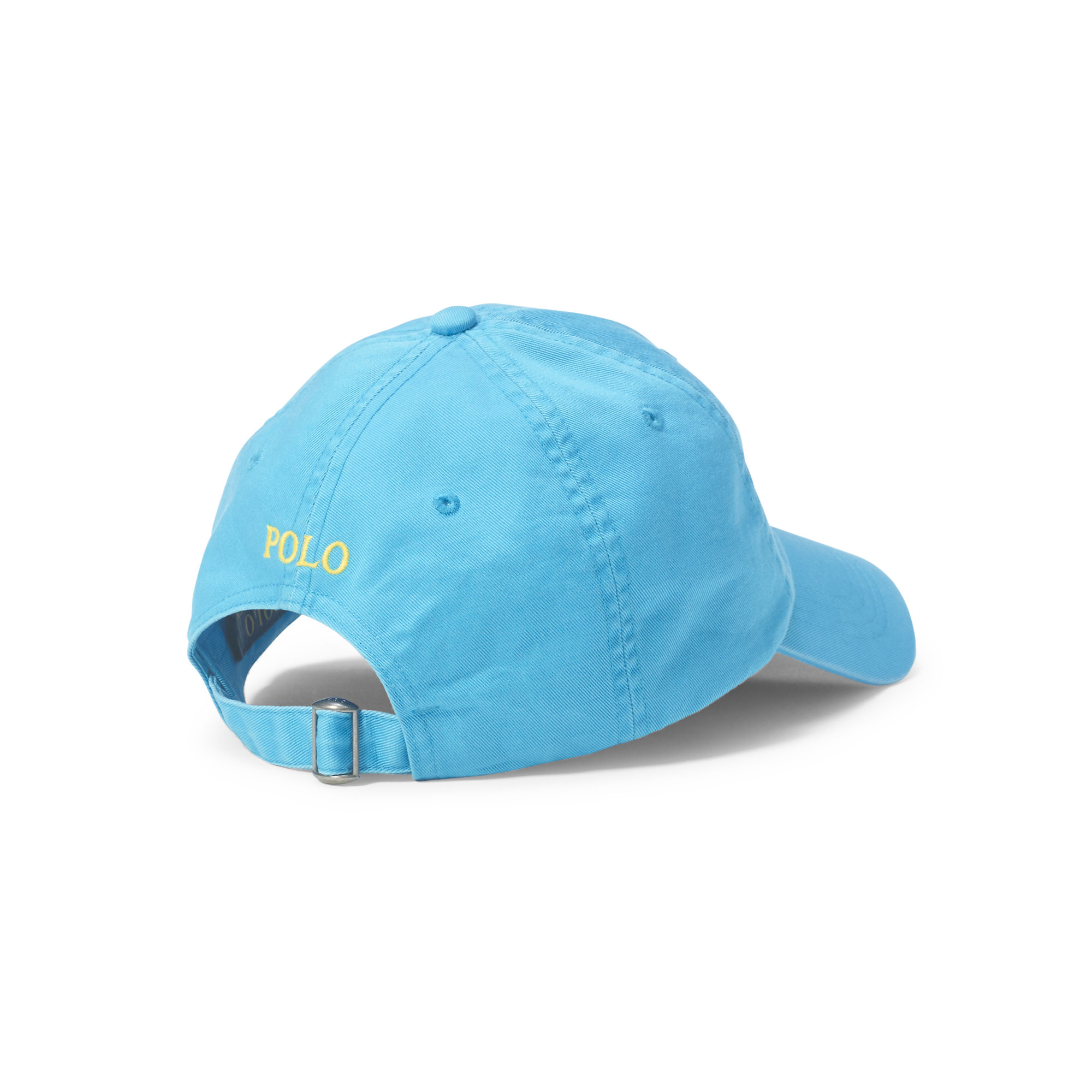polo ralph lauren cotton chino baseball cap in blue for men lyst. Black Bedroom Furniture Sets. Home Design Ideas