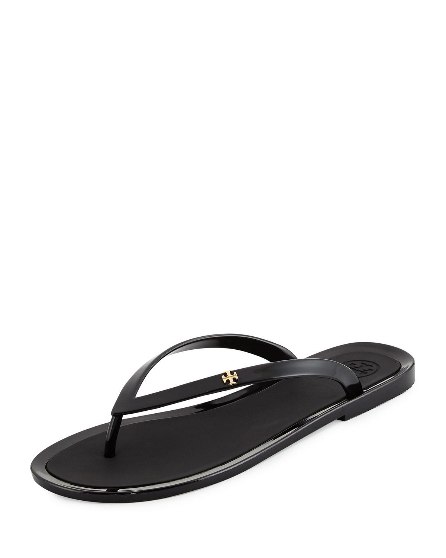 30c85297c Lyst - Tory Burch Fillmore Jelly Flip-flop in Black
