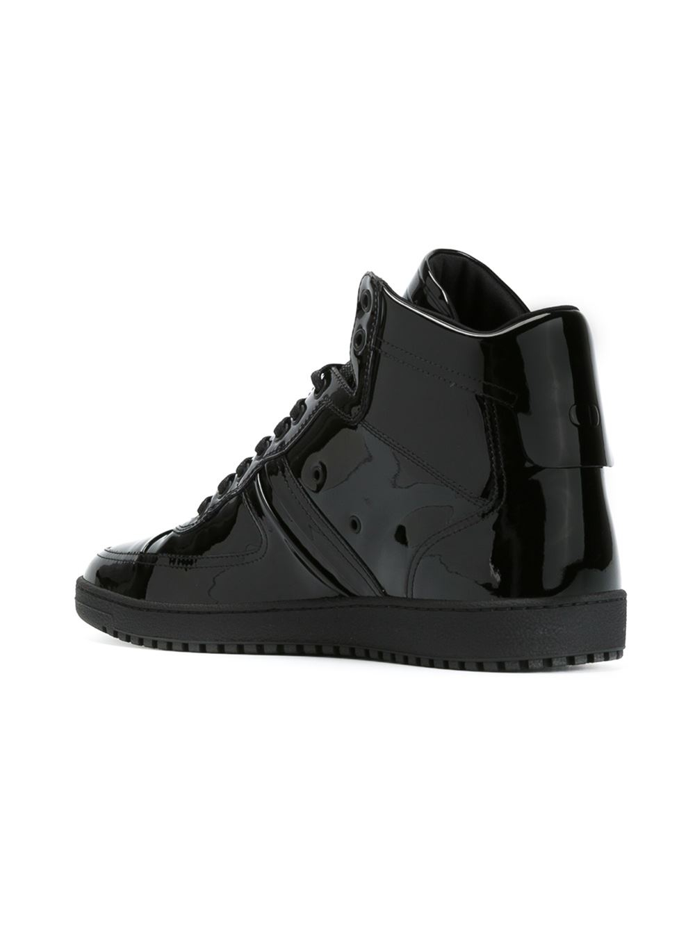 cheap discount cheap sale prices Christian Dior Leather High-Top Sneakers professional online qlVySn
