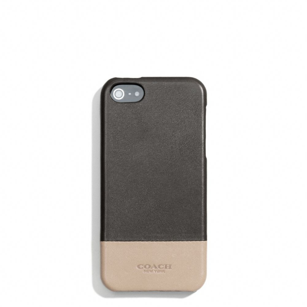 Lyst - Coach Bleecker Molded Iphone 5 Case In Colorblock Leather ...