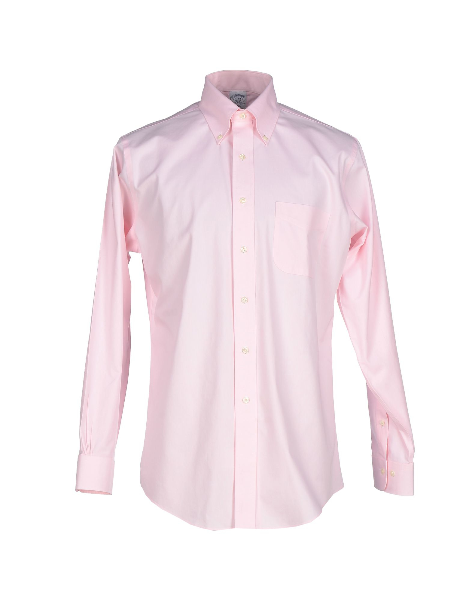 Brooks brothers shirt in pink for men lyst Brooks brothers shirt size guide