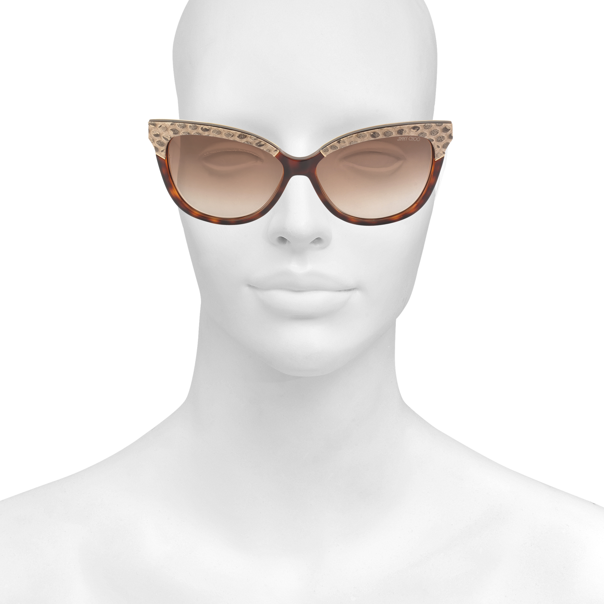Jimmy Choo Synthetic Ines/s Sunglasses in Brown