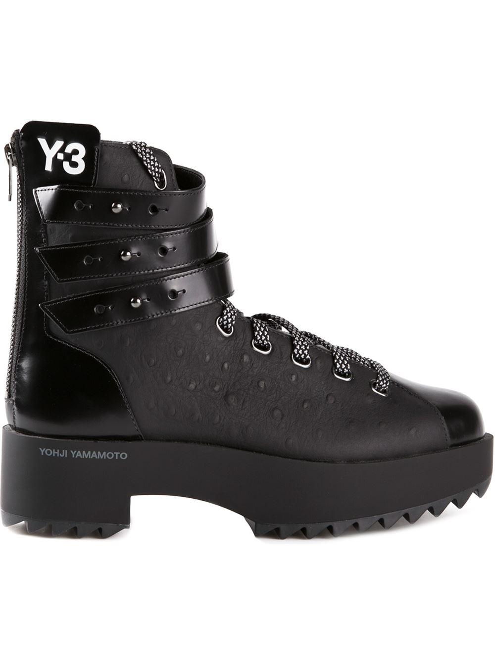 Y-3 'Hike Star Ii' Trainers in Black