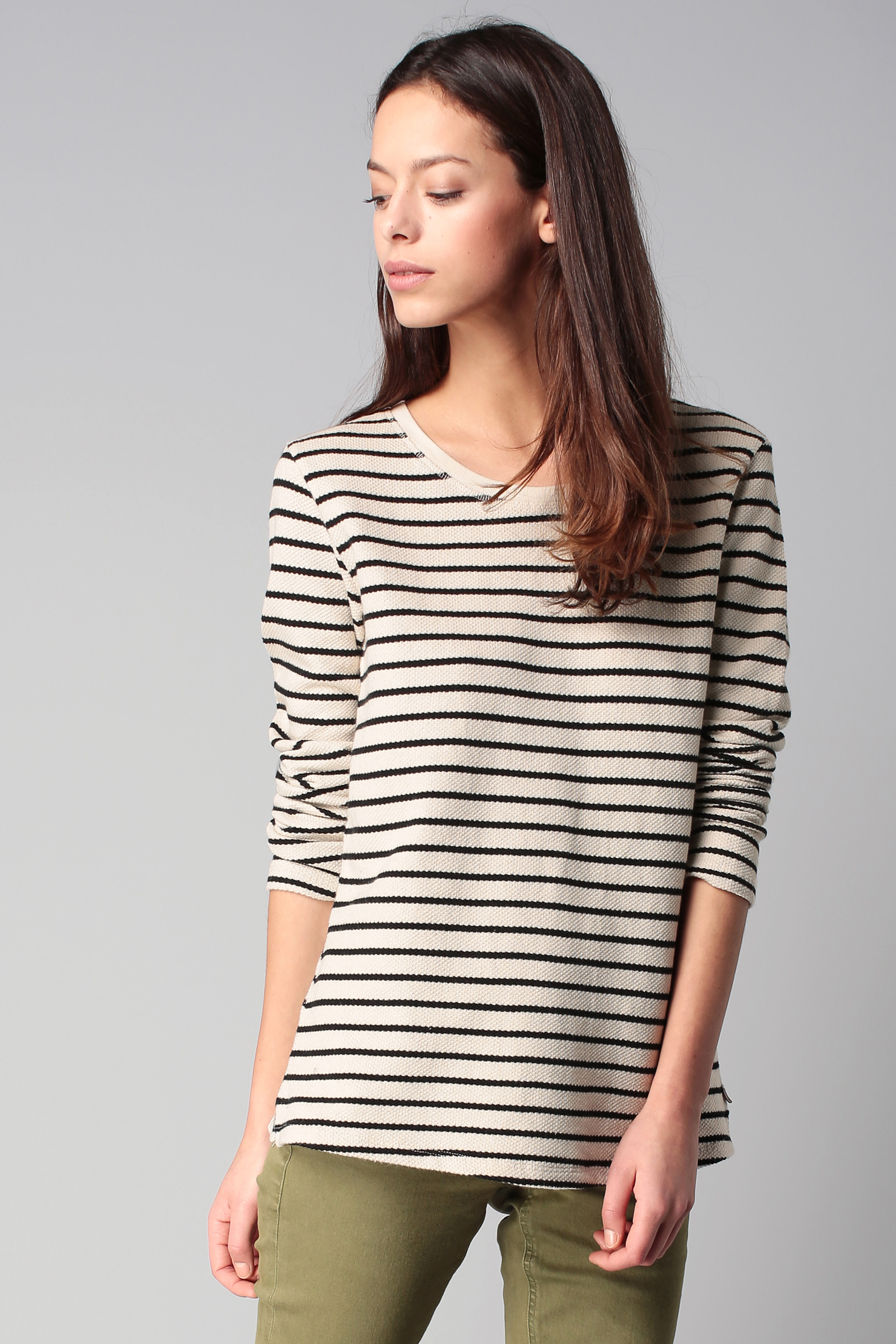 Lyst maison scotch jumper in white for About maison scotch