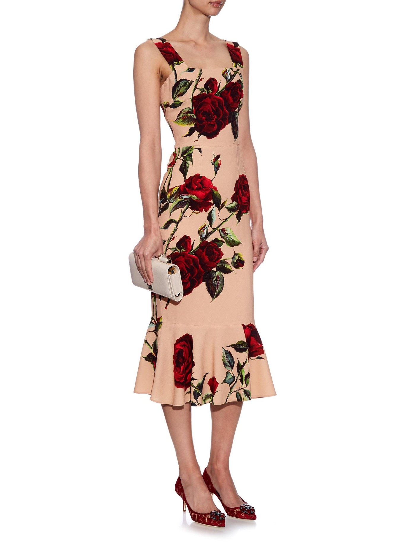 Fluted cady dress Dolce & Gabbana wdgMtU