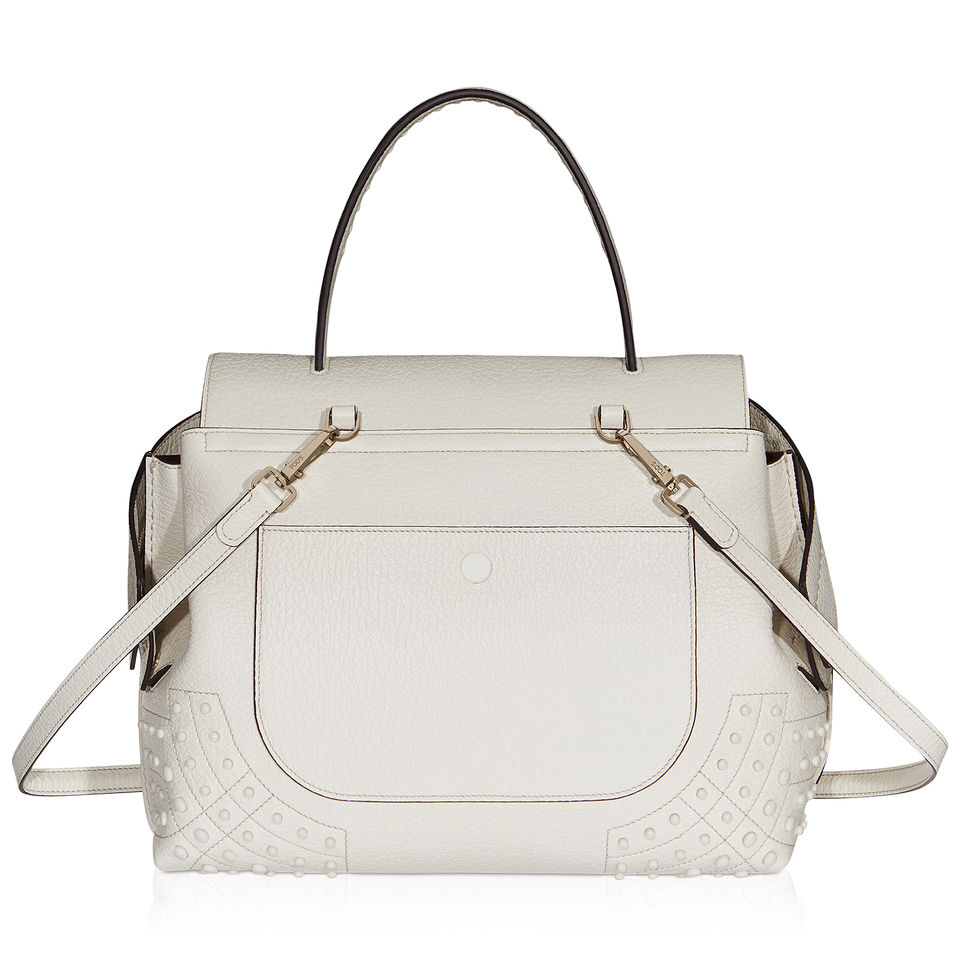 tod s small wave bag in gray lyst