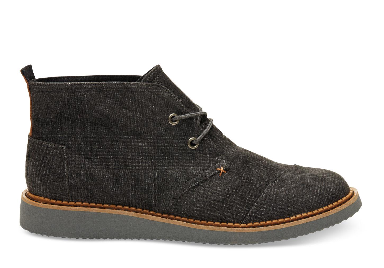 Lyst Toms Castlerock Grey Plaid Men S Mateo Chukka Boots