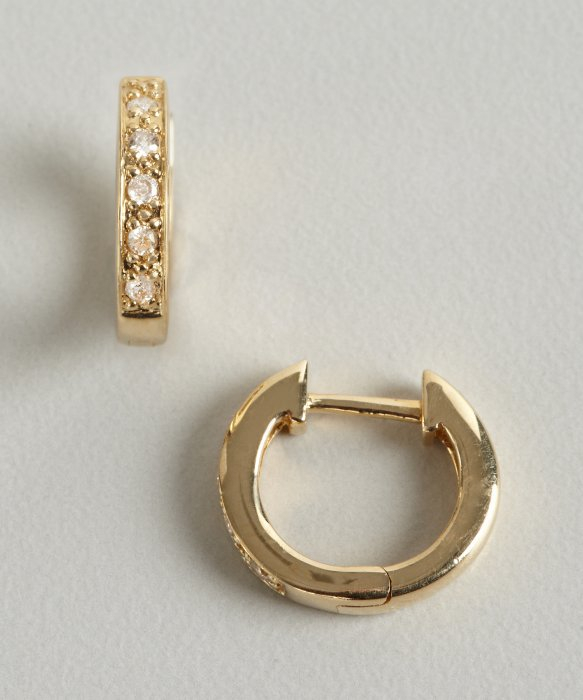 Gallery Previously Sold At Bluefly Women S Gold Hoop Earrings