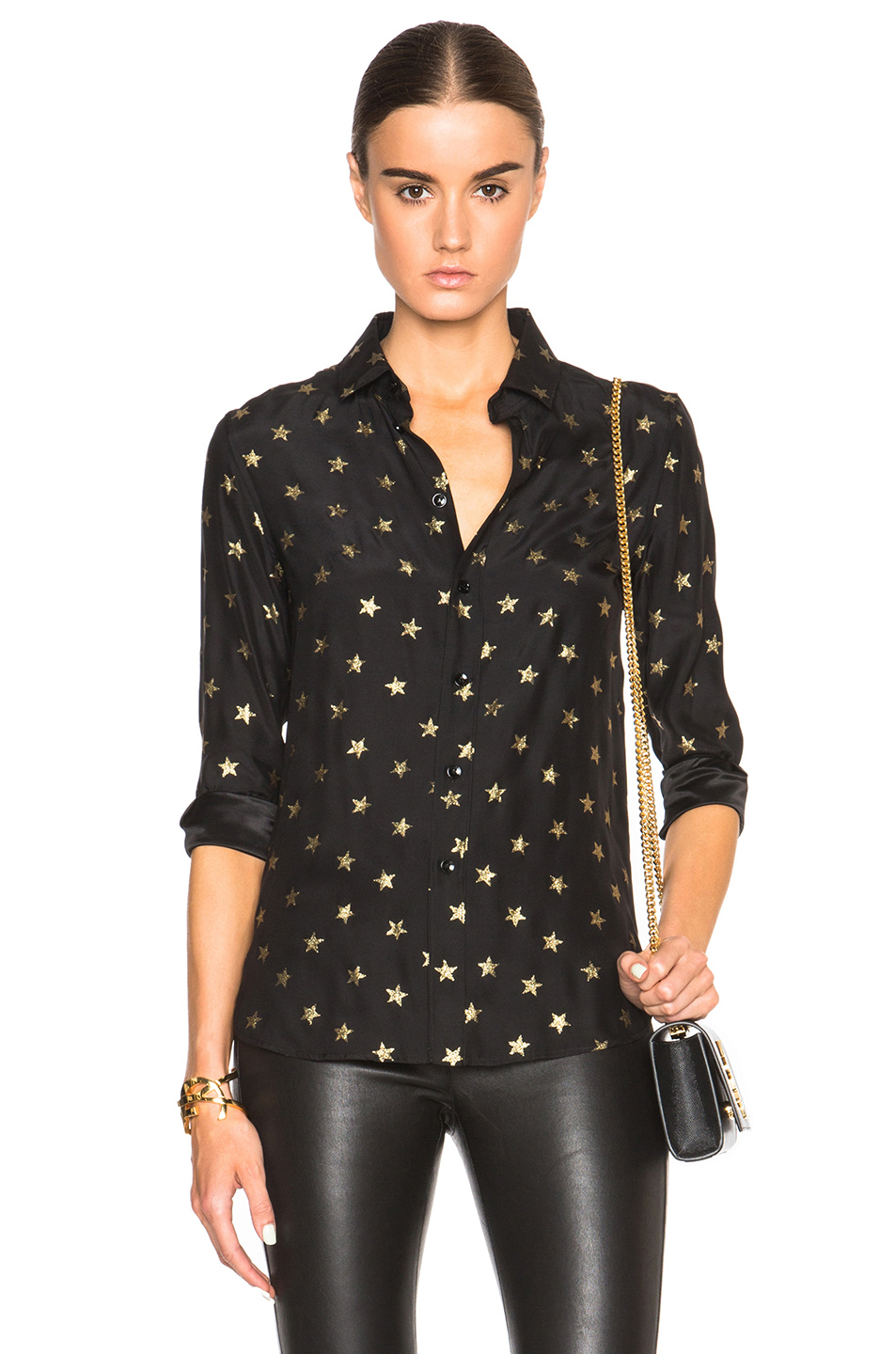 Collection Black And Gold Blouse Pictures - Reikian