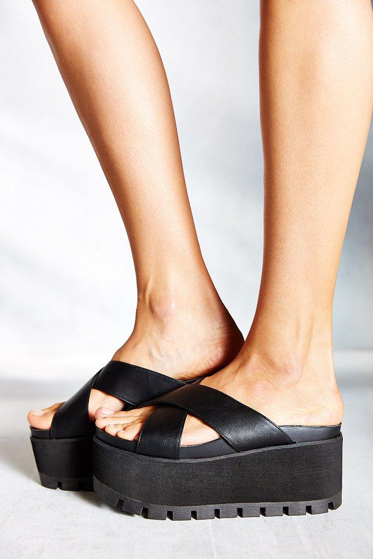 Lyst Yru Ocean Xx Platform Sandal In Black