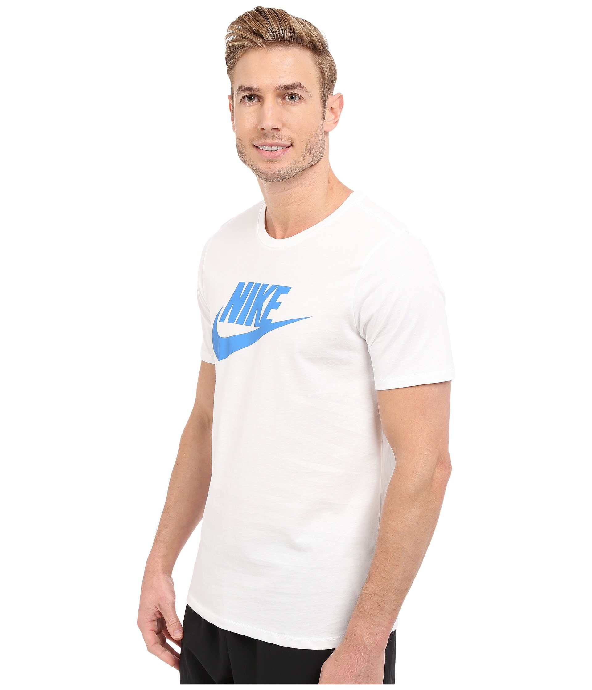 e1907c09 Nike Futura Icon Tee in White for Men - Lyst