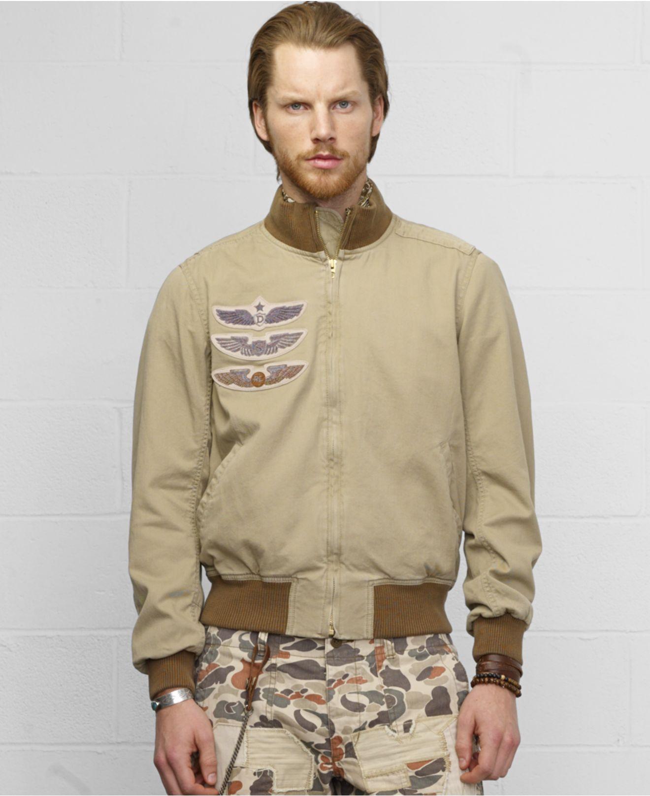 Denim and supply flight jacket