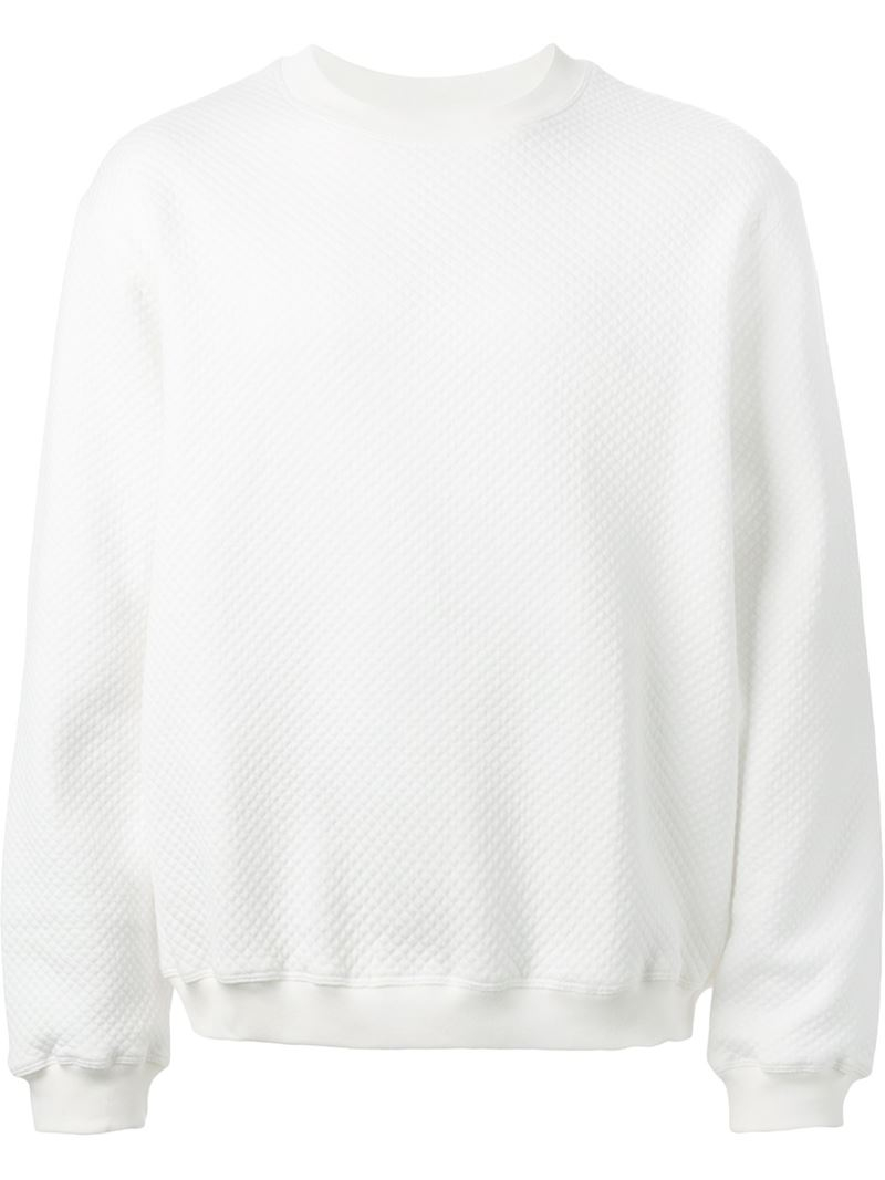 Lyst Nasir Mazhar Quilted Back Logo Embroidered