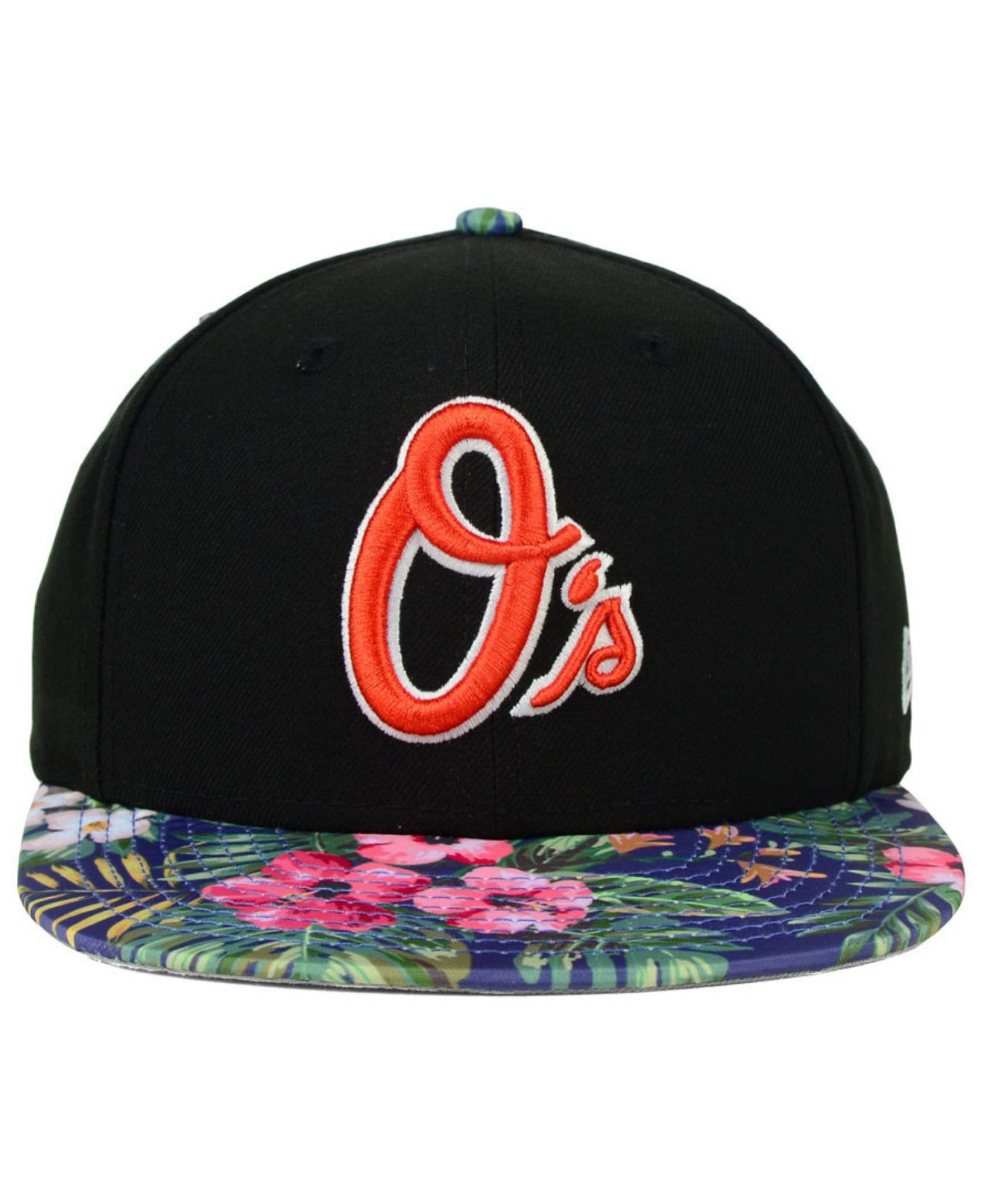 huge selection of 712fc 85269 KTZ Baltimore Orioles Tropic Time 9Fifty Snapback Cap in Black for ...
