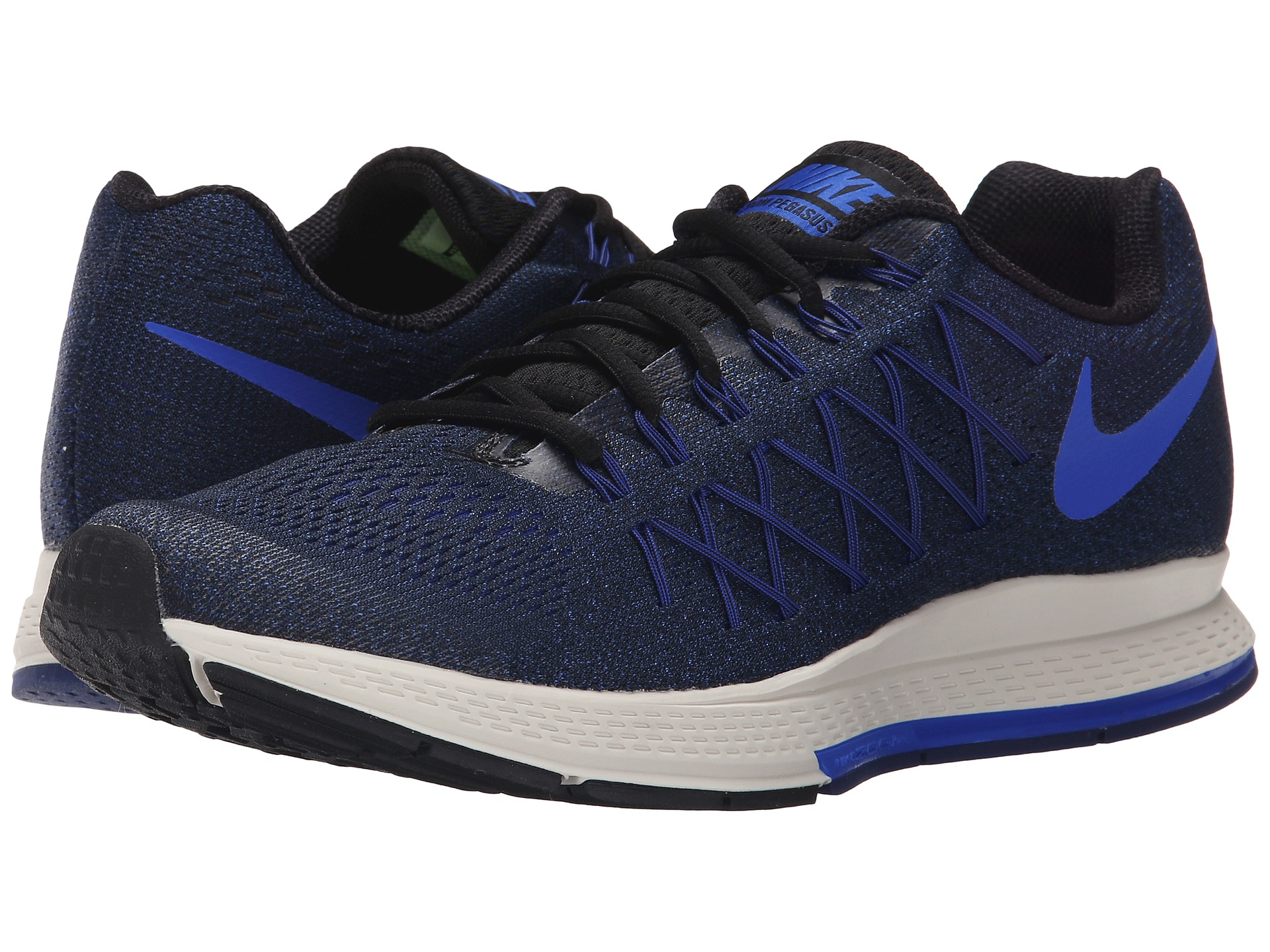 nike air zoom pegasus 32 in black lyst. Black Bedroom Furniture Sets. Home Design Ideas