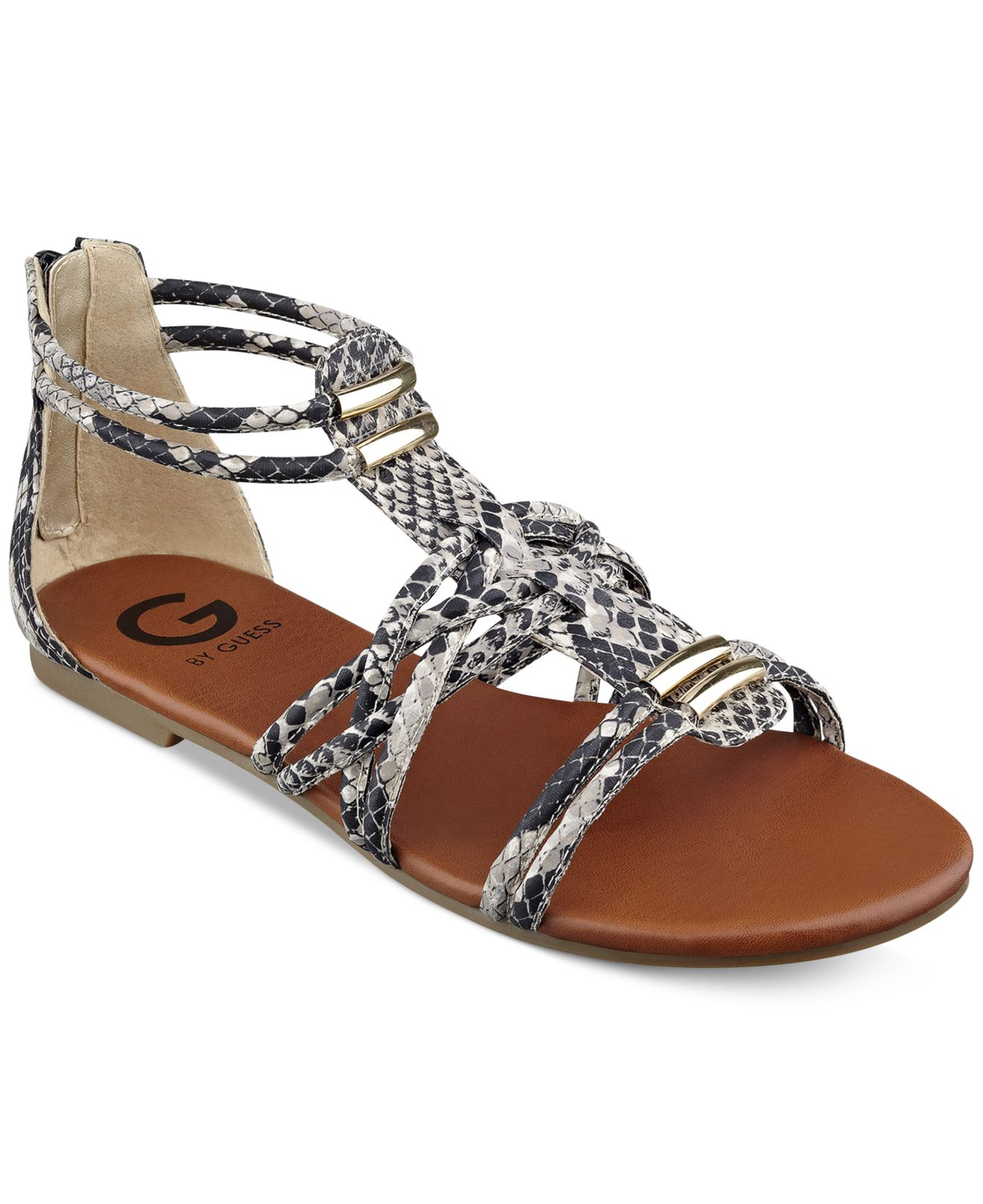 Luxury P26 Womens Roman Gladiator Sandals Flats Thongs Shoes WRhinestones P26 When Comfort Matters Rhinestone Embellished Sandals Great For Everyday Beautiful Design Superior Comfort Additional Details  Department