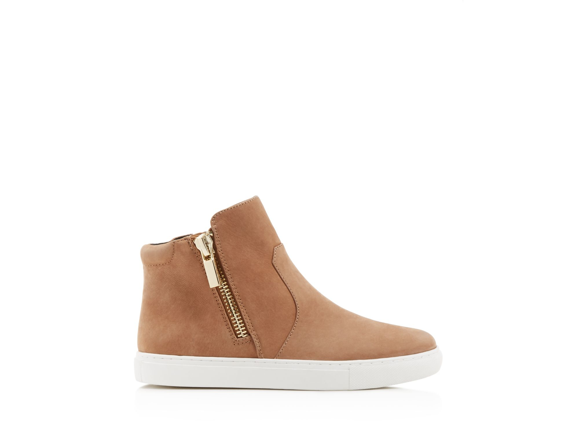 Kenneth Cole Kiera High Top Sneakers in Clay (Brown)