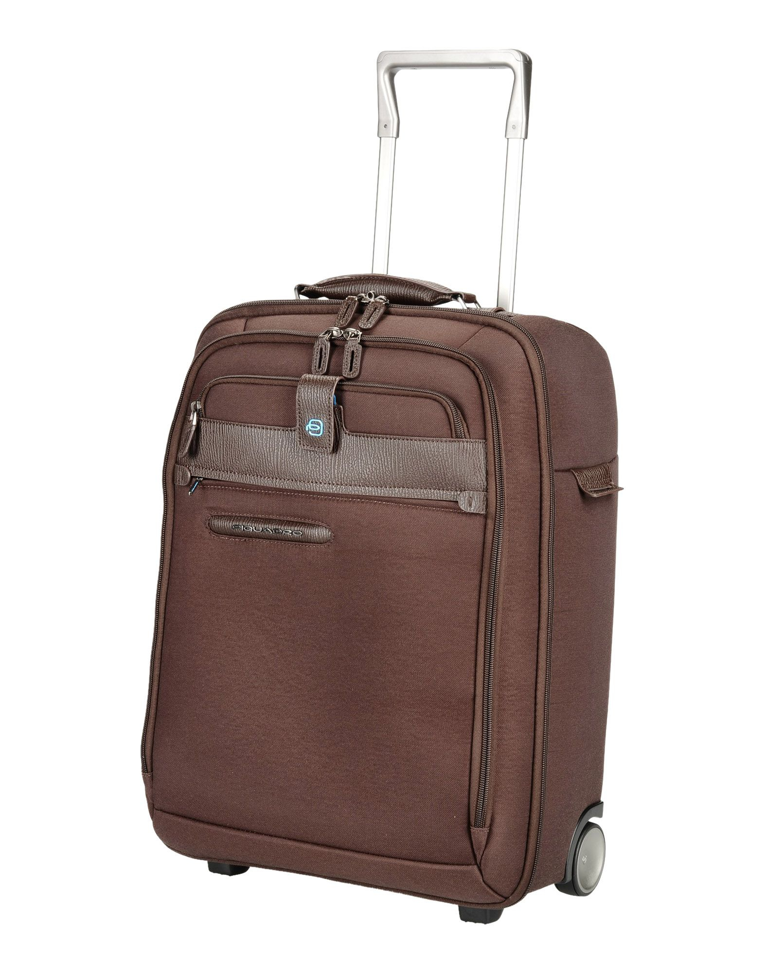 Piquadro Wheeled Luggage in Brown for Men (Dark brown)