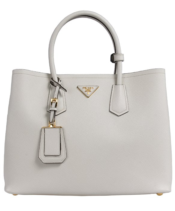saffiano chain crossbody wallet prada - prada backpack chalk white
