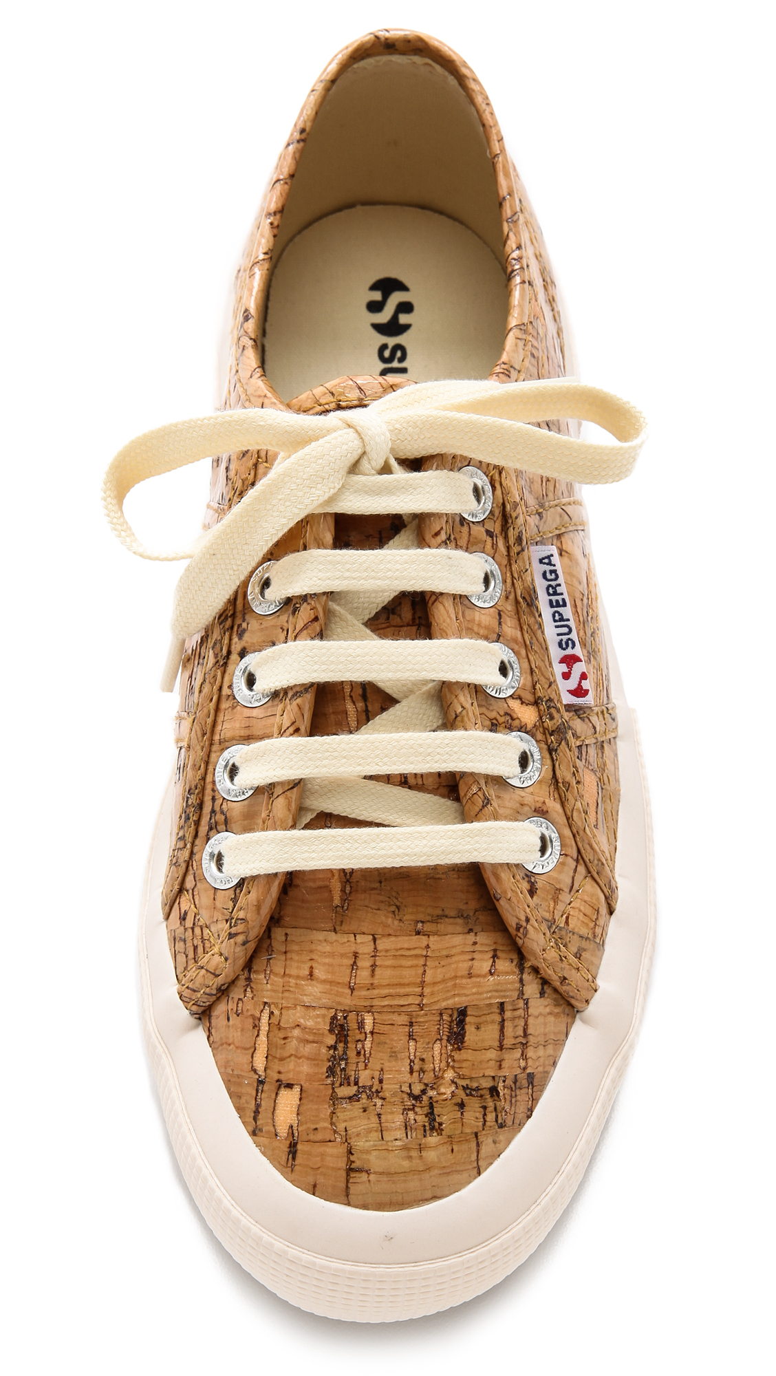 Superga Cork Sneakers Natural