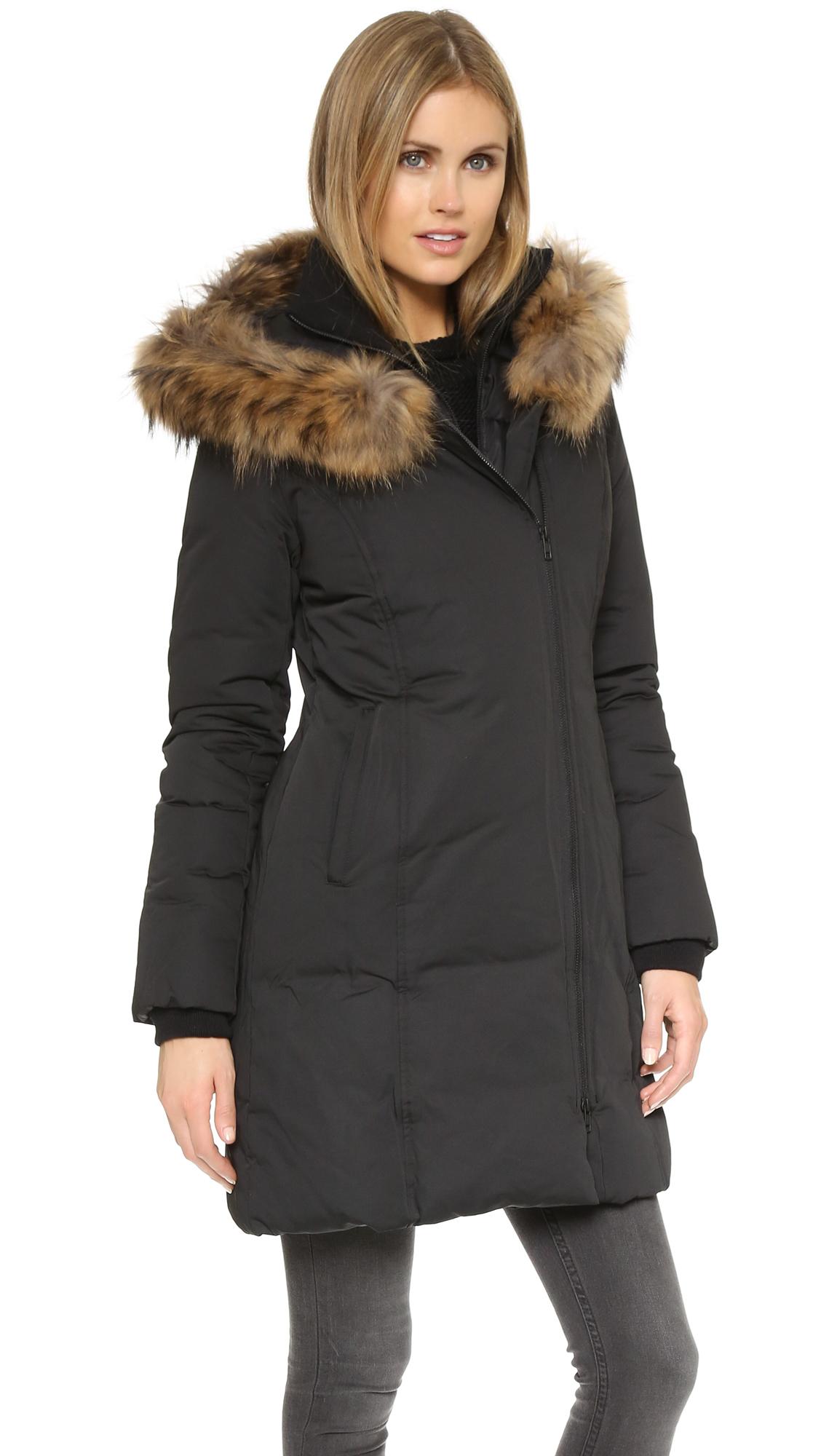 Lyst Soia Amp Kyo Salma Down Coat In Black