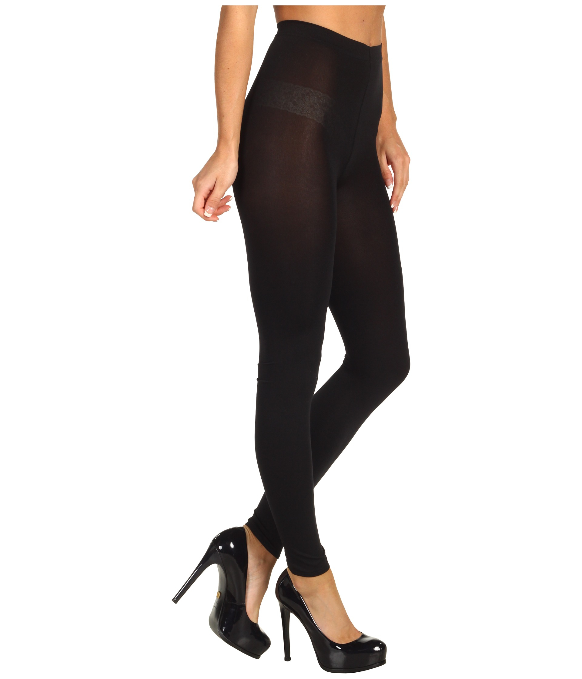 974e86e97ee Wolford Mat Opaque 80 Leggings in Black - Lyst
