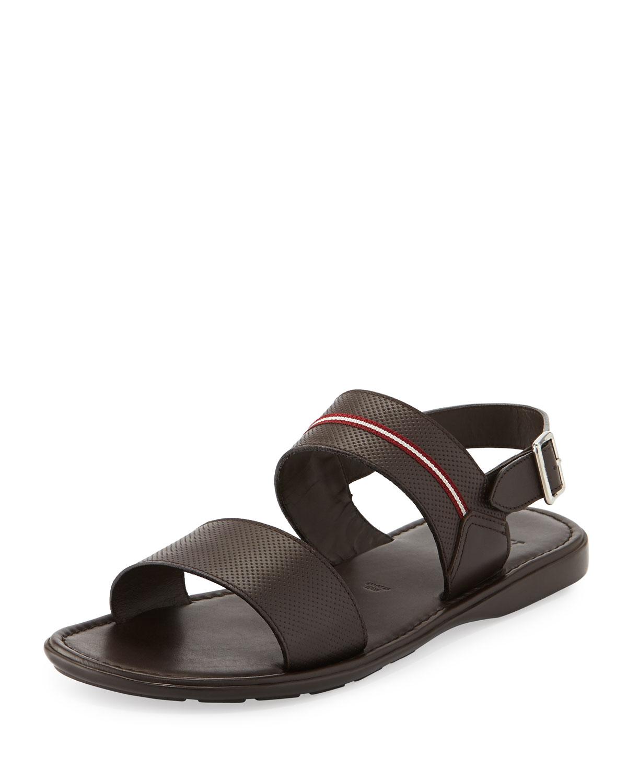 Lyst Bally Daiki Fisherman Strappy Leather Sandal In