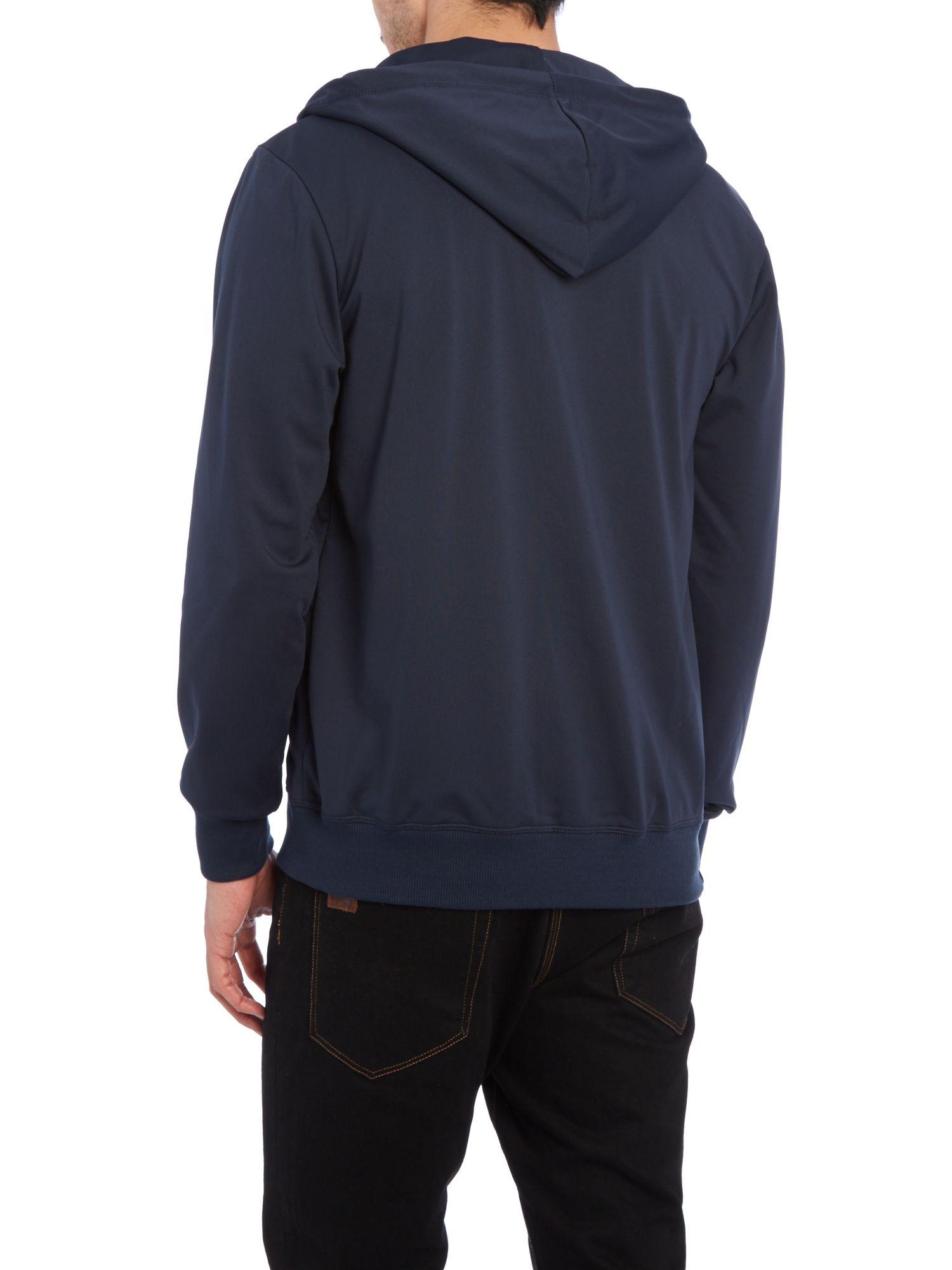 Bench Hooded Sweatshirt In Blue For Men Navy Lyst