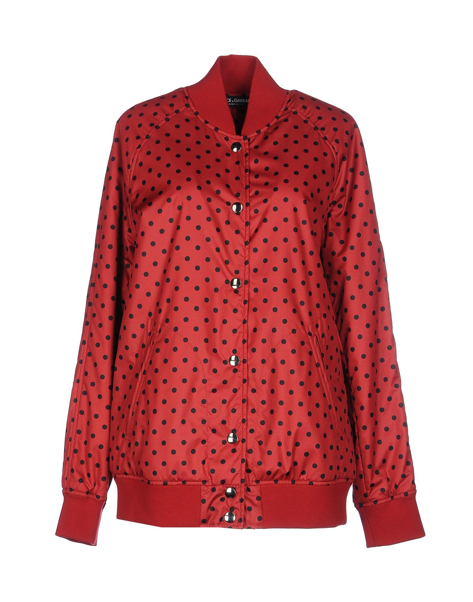 lyst dolce gabbana jacket in red. Black Bedroom Furniture Sets. Home Design Ideas
