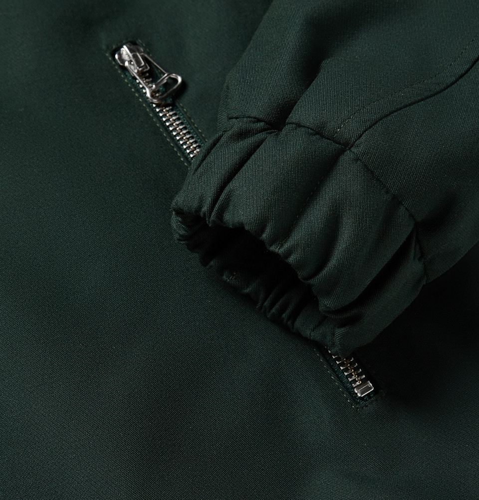 AMI Gabardine Jacket in Green for Men