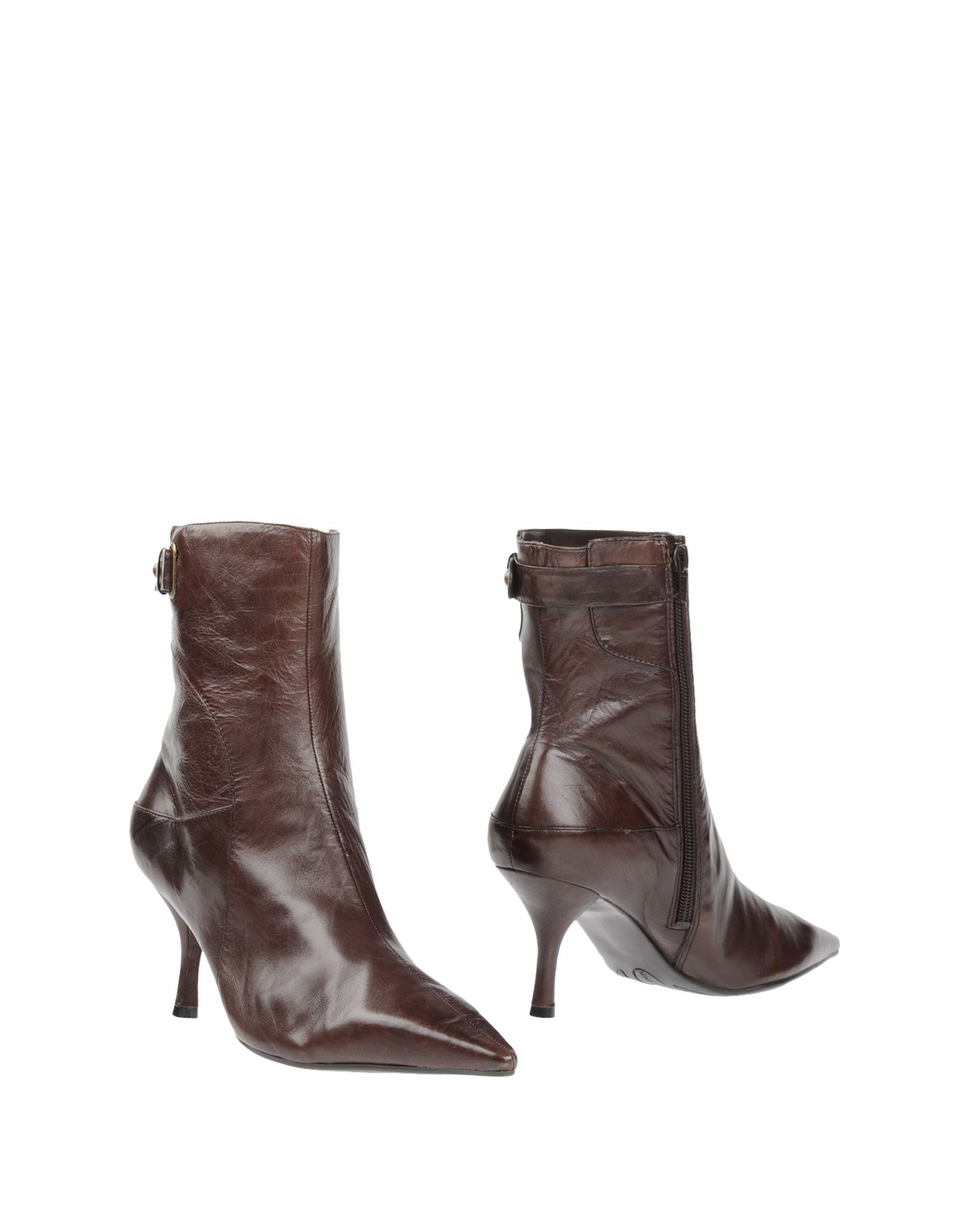 nine west ankle boots in brown lyst