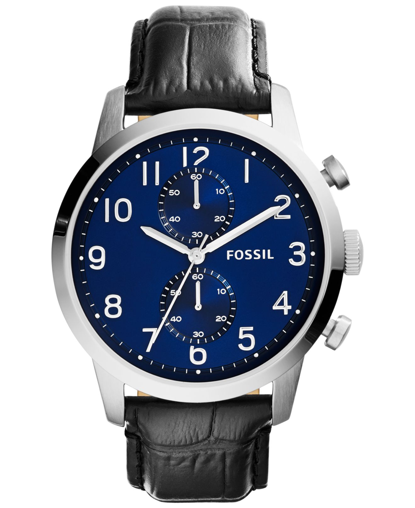 Thread fs fossil townsman automatic black leather strap me3104 men s - Gallery Of Thread Fs Fossil Townsman Automatic Black Leather Strap Me3104 Men S