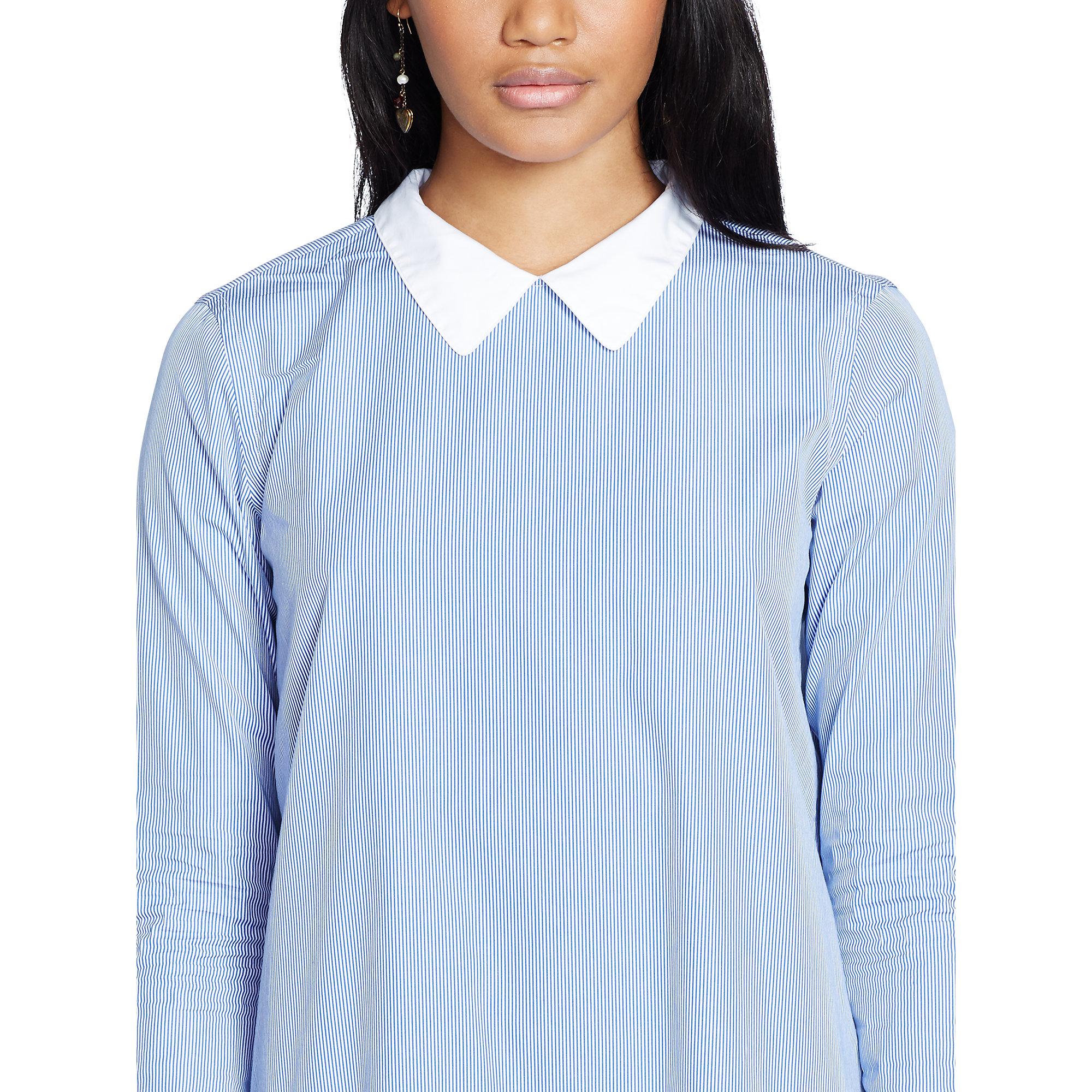 ralph lauren denim dress sky blue ralph lauren shirt