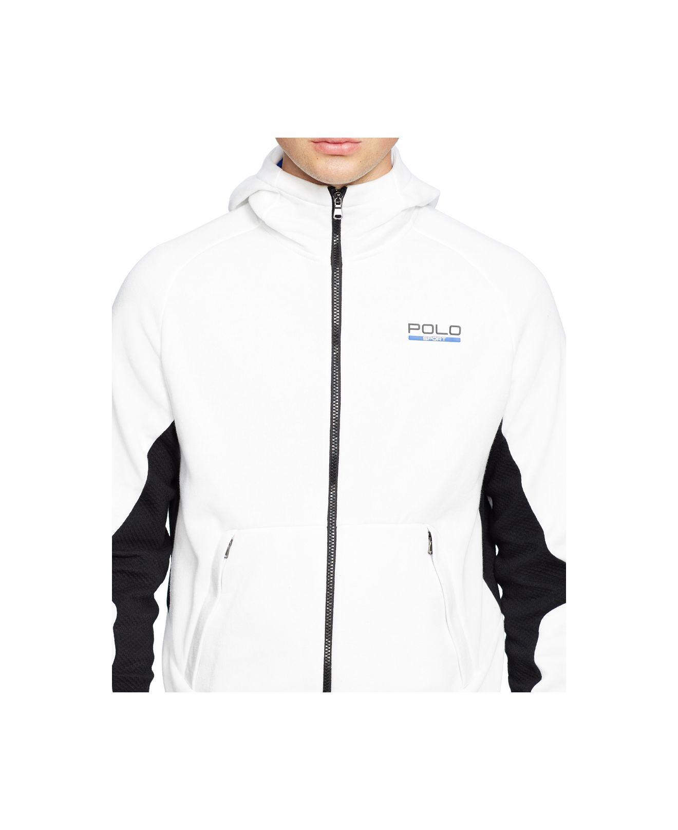 Lyst - Polo Ralph Lauren Polo Sport Men s Fleece Zip Up Hoodie in Black for  Men 5415219a4a89