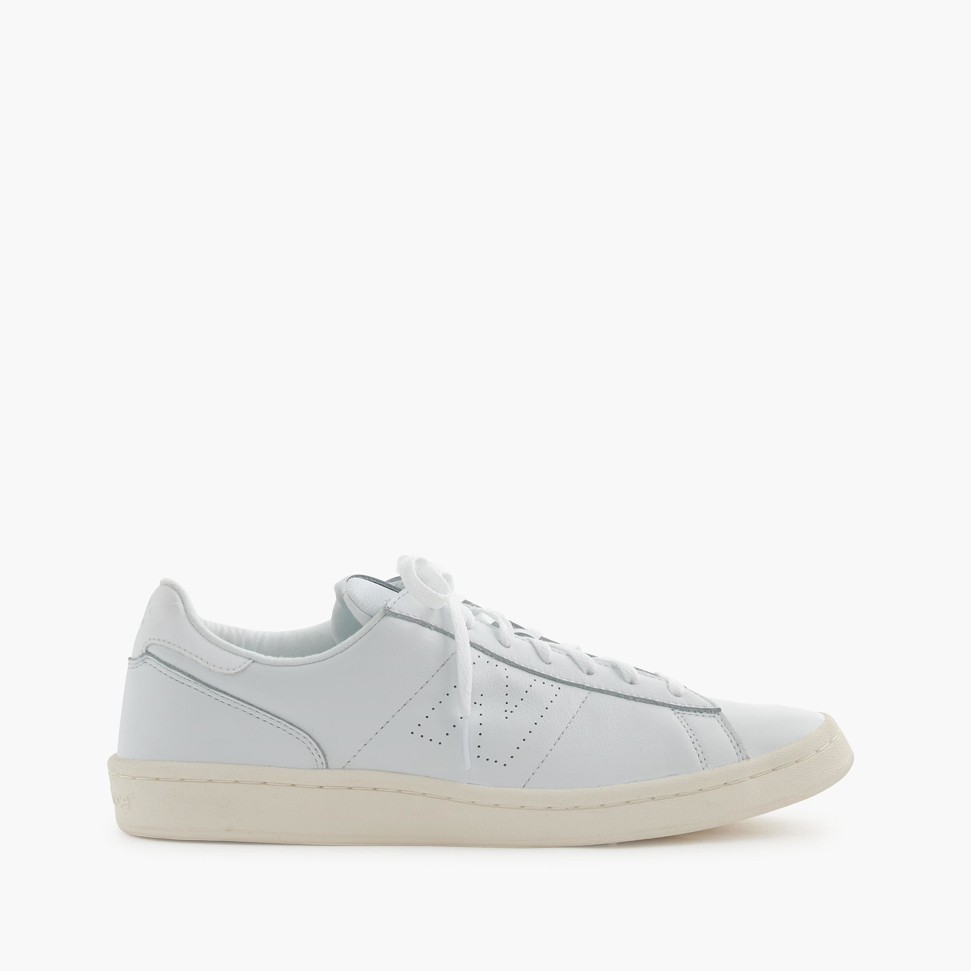 New Balance 791 Leather Low Top Sneakers In White For Men