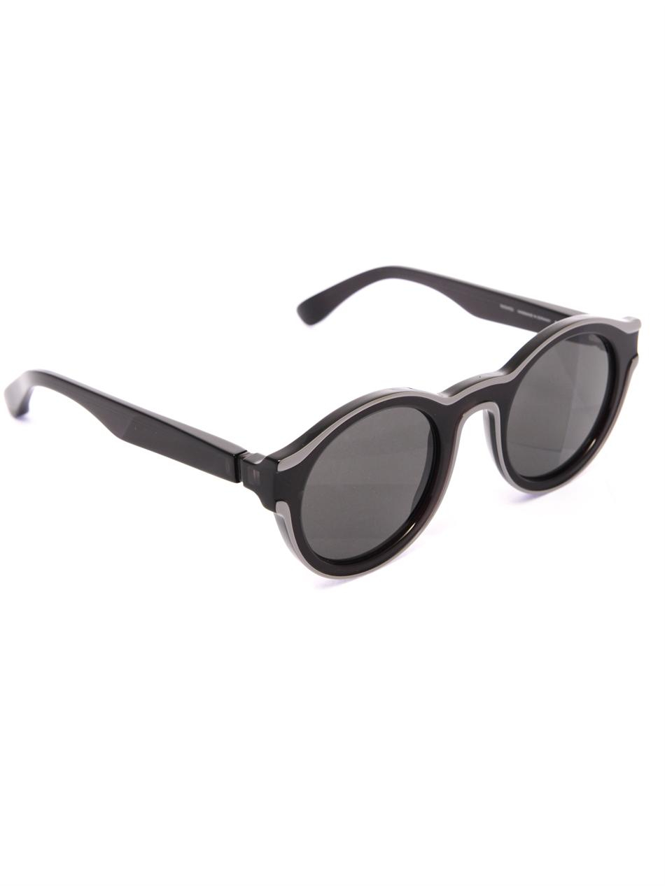 Lyst mykita x maison martin margiela sunglasses in black for Martin margiela glasses