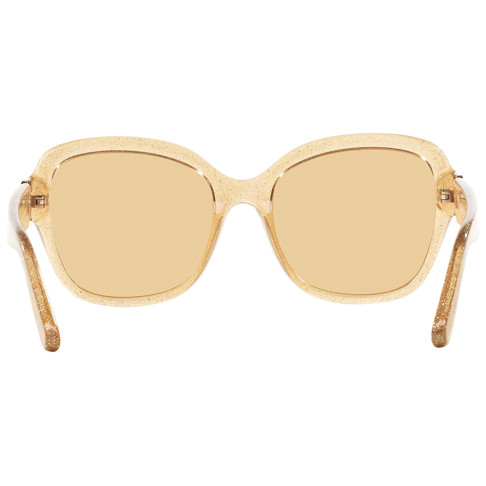 3a281ca93f Michael Kors Mk6027 Tabitha Iii Polarised Square Sunglasses in Metallic -  Lyst