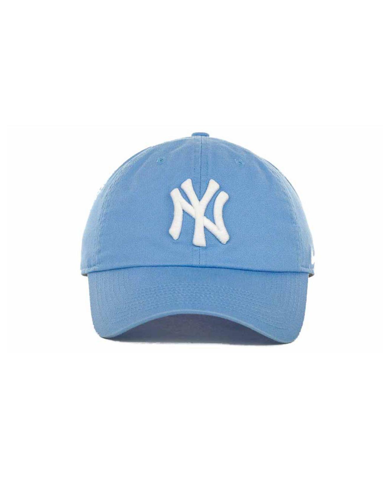 560844c6 ... promo code for lyst nike womens new york yankees stadium cap in blue  77314 f8a3c