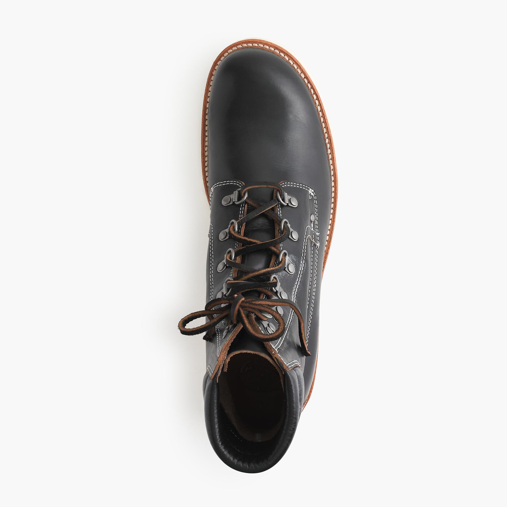 Lyst - J.Crew Wallace & Barnes Plain-toe Byrd Boots in ...