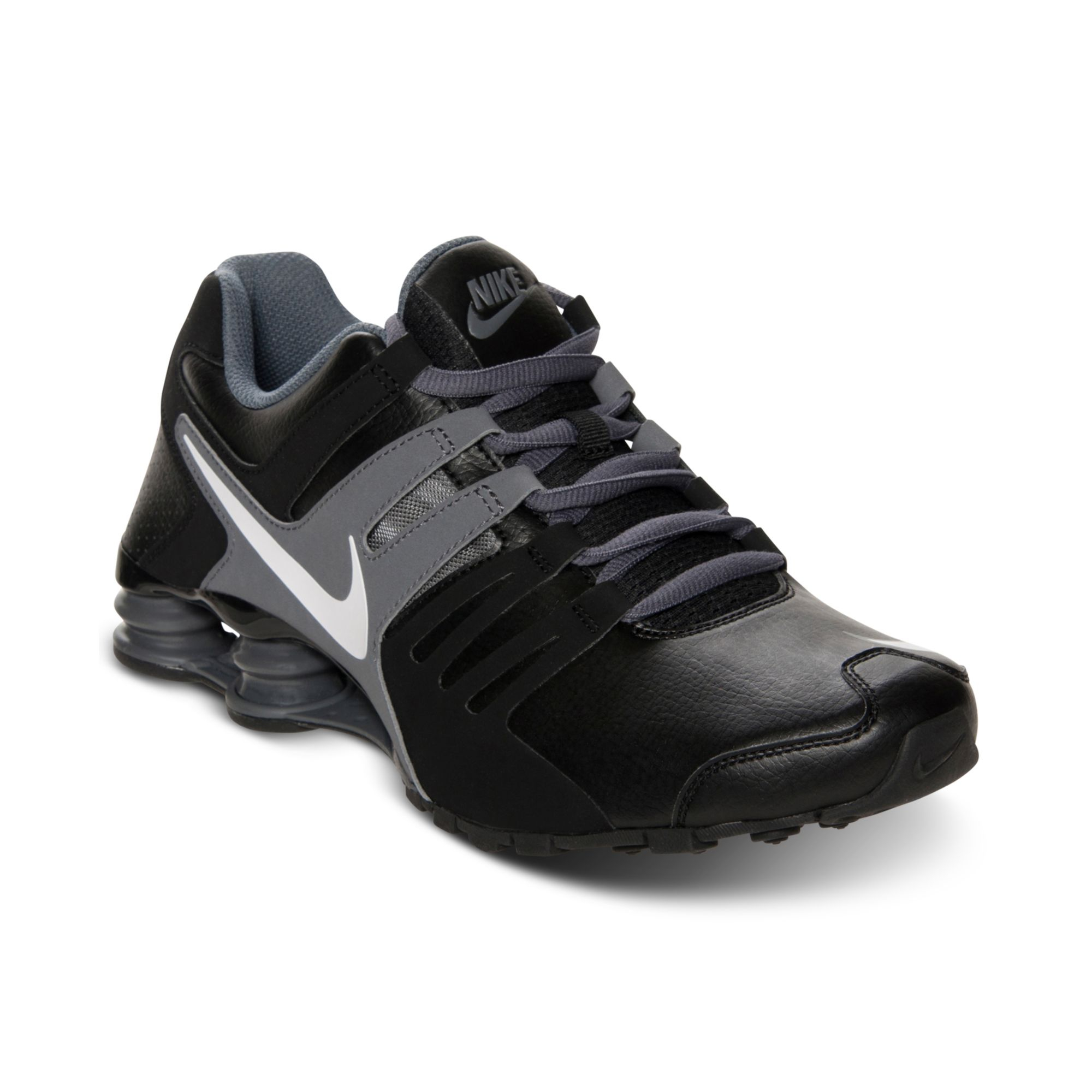 nike mens shox current running sneakers from finish line